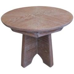 Unusual Italian Cerused Oak Centre Table