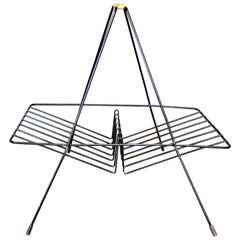 Midcentury Metal Magazine Rack