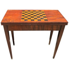Distinguished French Neoclassical Louis XVI Game Table