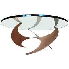 Propeller Coffee Table by Knut Hesterberg for Roland Schmitt