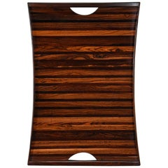 Large Rosewood Tray by Don Shoemaker
