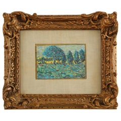 Louis Roy Impressionist Painting