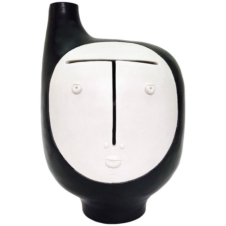 Dalo, Black and White Ceramic Table Lamp