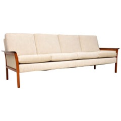 1960s Scandinavian Sofa by Knut Saeter for Vatne Mobler