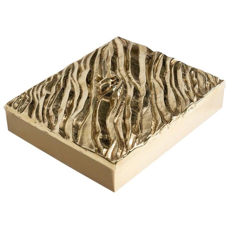 """Line Vautrin, """"La Mer"""" Box, France, circa 1942-1950 For Sale"""