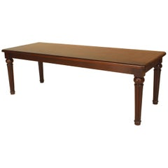 English William IV Mahogany Bench or Coffee Table