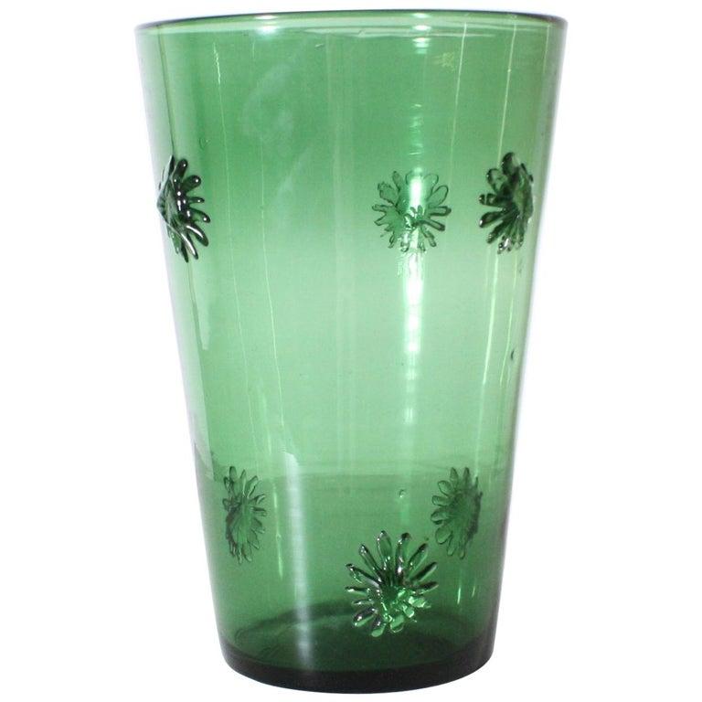 Green Empoli Vase, circa 1960