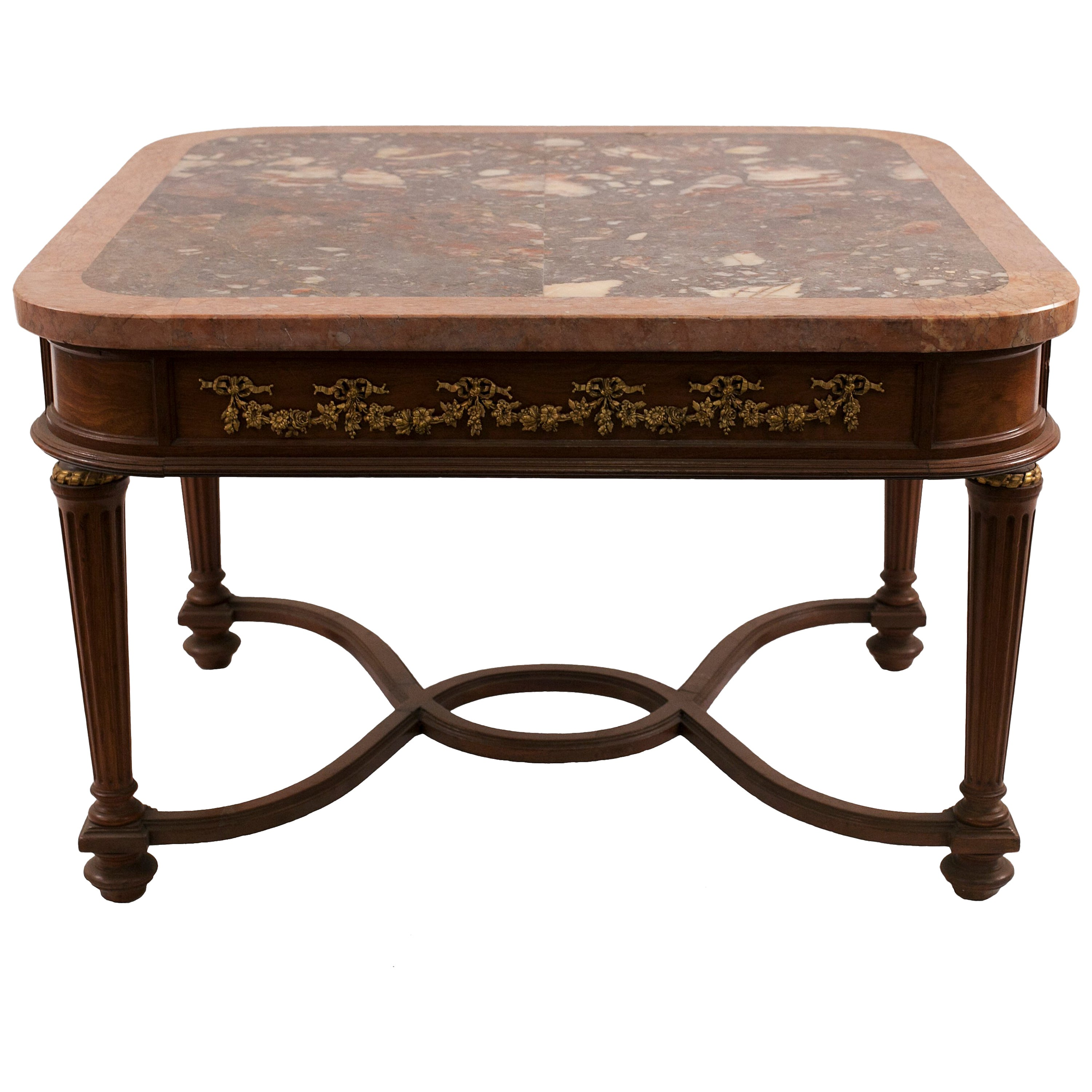 French Louis XVI Style '19th-20th Century' Coffee Table