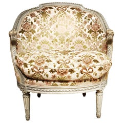 French Louis XVI Style Marquise in a Painted Finish