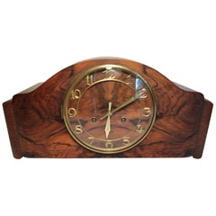 German Art Deco Mantle Clock