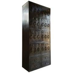 Stunning Industrial Steel Lockers Loft Style Large Haberdashery