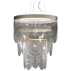 SLAMP Ceremony Small Pendant Light in Fumé by Bruno Rainaldi