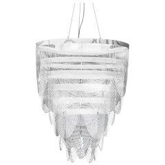 SLAMP Ceremony Large Pendant Light in Prisma by Bruno Rainaldi