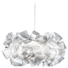 SLAMP Clizia Small Pendant Light in Fumé by Adriano Rachele