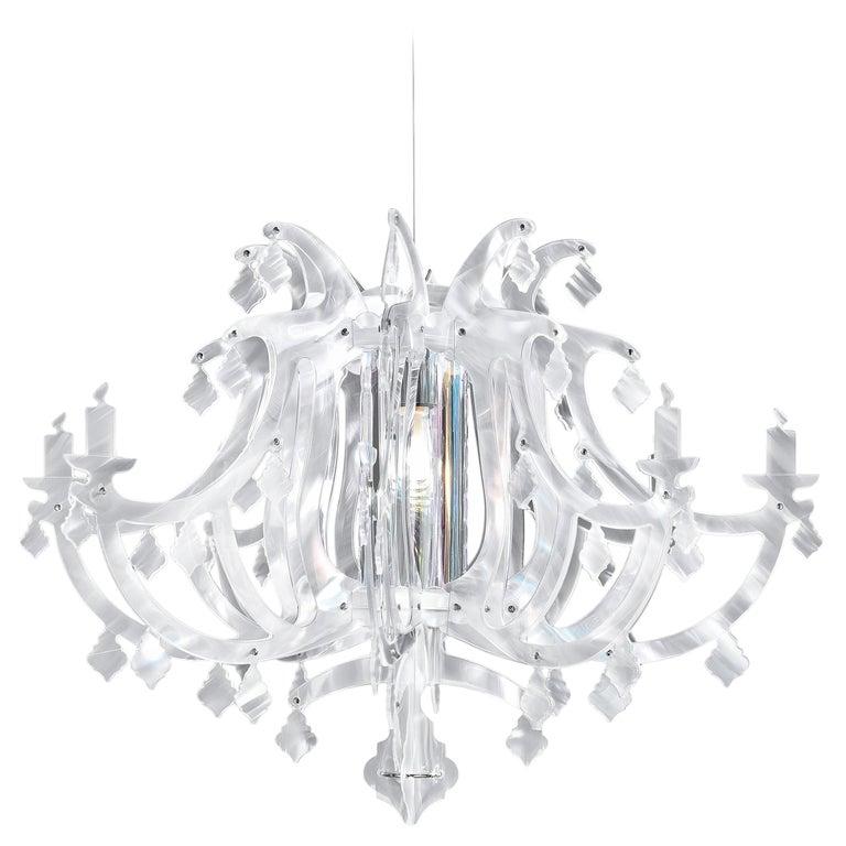SLAMP Ginetta Pendant Light in Prisma by Nigel Coates