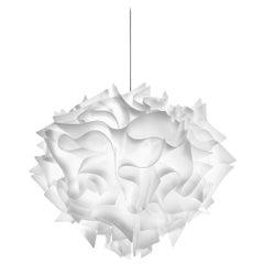 SLAMP Veli Large Suspension Light in Opal by Adriano Rachele