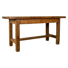 French Antique Charcuterie Table, 19th Century, Oak, Country Kitchen, circa 1890
