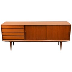 Omann Jun Danish Design Teak Sideboard Model 18