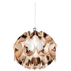 SLAMP Flora Small Pendant Light in Copper by Zanini De Zanine