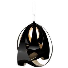 SLAMP Goccia Pendant Light in Jet by Nigel Coates