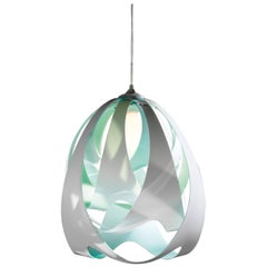 SLAMP Goccia Pendant Light in Aqua by Nigel Coates