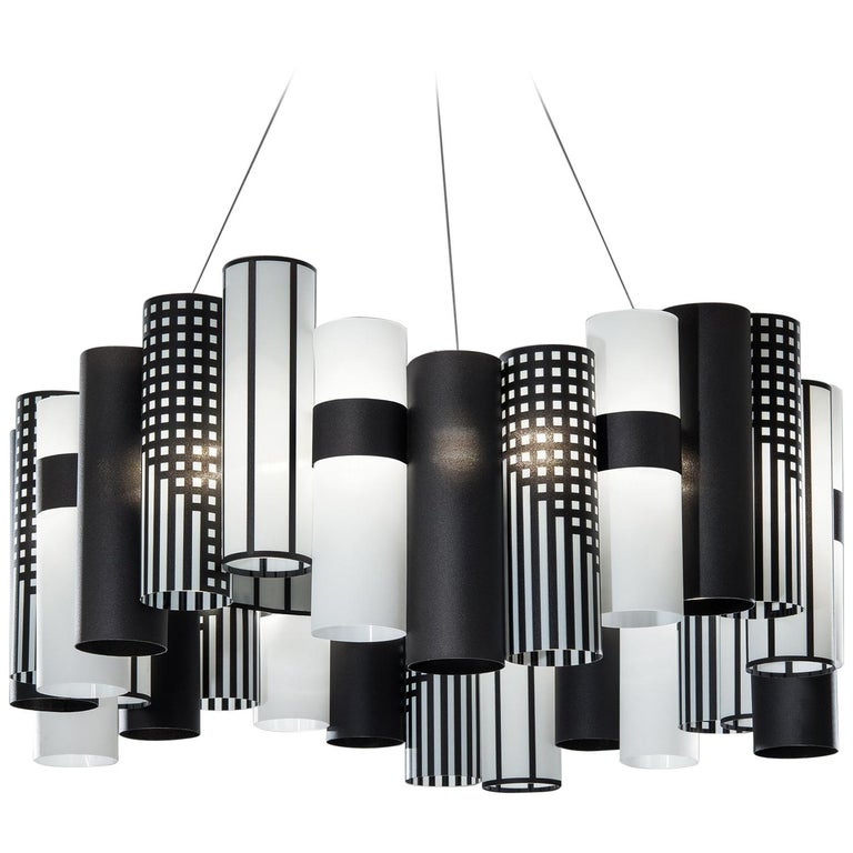 SLAMP La Lollo Large Pendant Light in Mackintosh by Lorenza Bozzoli