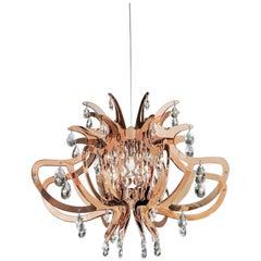 SLAMP Lillibet Pendant Light in Copper by Nigel Coates