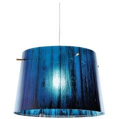 SLAMP Woody Pendant Light in Blue by Luca Mazza