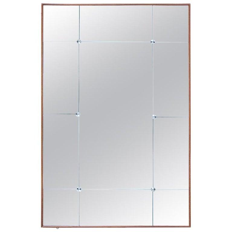 1950s Scandinavian Modern Wall Mirror