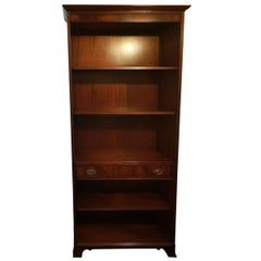 20th Century Classical Style English Bookcase or Cabinet Made of Mahogany