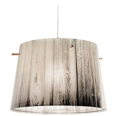 SLAMP Woody Pendant Light in White by Luca Mazza
