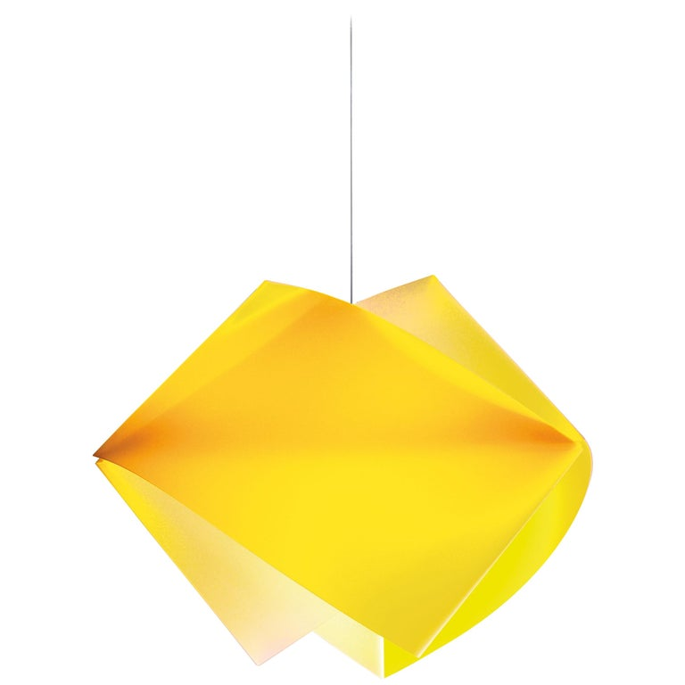 SLAMP Gemmy Pendant Light in Yellow by Spalletta, Croce, Ragnisco & Wijffels