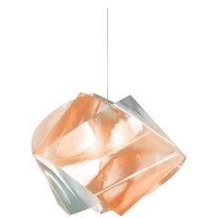 SLAMP Gemmy Pendant Light in Amber by Spalletta, Croce, Ragnisco & Wijffels