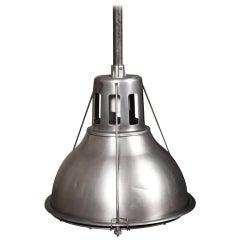 Aluminum Holophane Pendant Lamp
