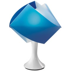 SLAMP Gemmy Table Light in Blue by Spalletta, Croce, Ragnisco & Wijffels