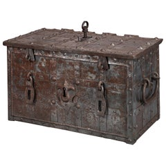 17th Century German Strongbox