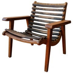 Mexican Bauhaus Chair by Michael van Beuren for Domus