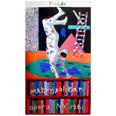 'Parade' original screenprint by David Hockney