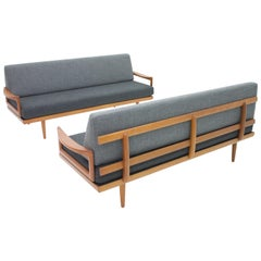 Tove & Edvard Kindt-Larsen Sofa Daybed Bench by Gustav Bahus Norway, 1960s