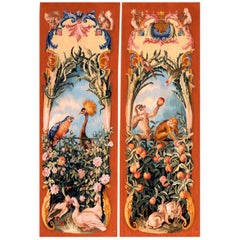 Pair of Tapestry Panels