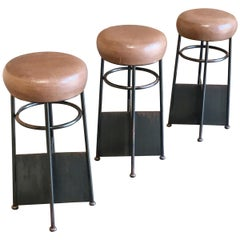 20th Century Modernist Bar Stools