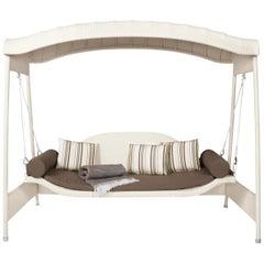 Garden Swing Sofa, Contemporary Woven Outdoor Swing Sofa
