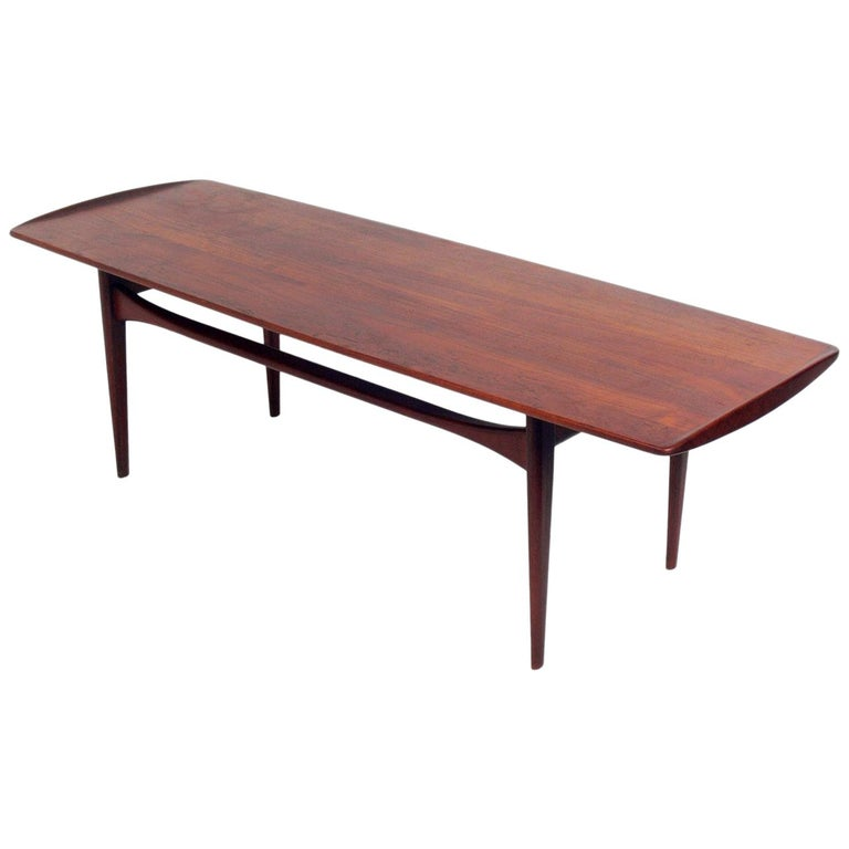 Danish Modern Coffee Table By Kindt Ln For