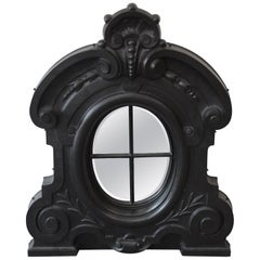 19th Century Antique French Cast Iron Dormer