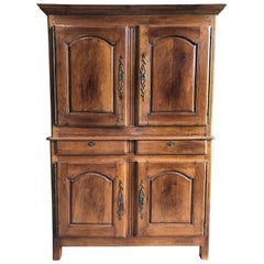 Louis XV Period Buffet a Deux Corps, in Cherry