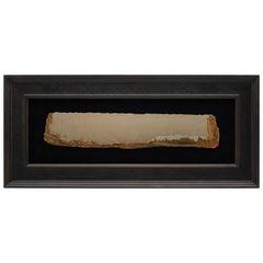 "Large Framed Italian Pietra Paesina ""Landscape Marble"" or ""Ruin Marble"" Specimen"