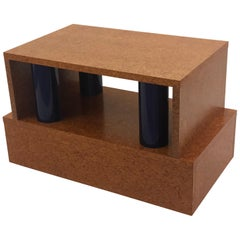 Rare Memphis Coffee Table by Ettore Sottsass from the Donau Line by Leitner