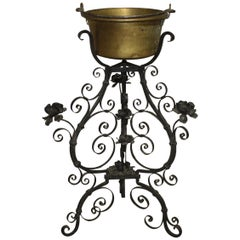 Charming 19th Century French Iron Planter