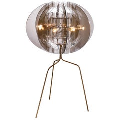 SLAMP Atlante Table Light in Fumé by Nigel Coates