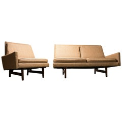Jens Risom Sectional Sofa and Chair